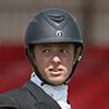 Harry Dzenis (GBR) riding Xam